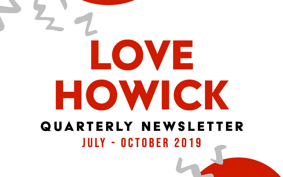 QUARTERLY NEWSLETTER – July to October 2019